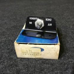 Emergency Flasher Switch 1966 NOS