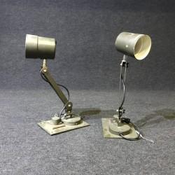 Original Militär Tischleuchte